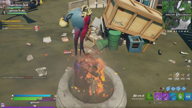 fortnite episode 2 season 7 alien parasites what are they doing where they are