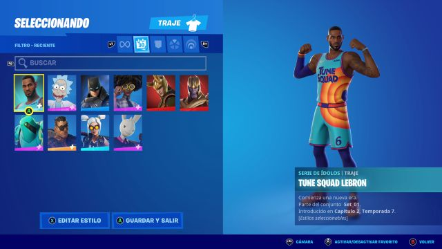 fortnite chapter 2 season 7 skin tune squad lebron james free how to get it space jam new legends