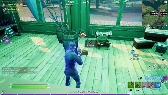 fortnite chapter 2 season 7 mission challenges week 6 challenge mission collecting sticks