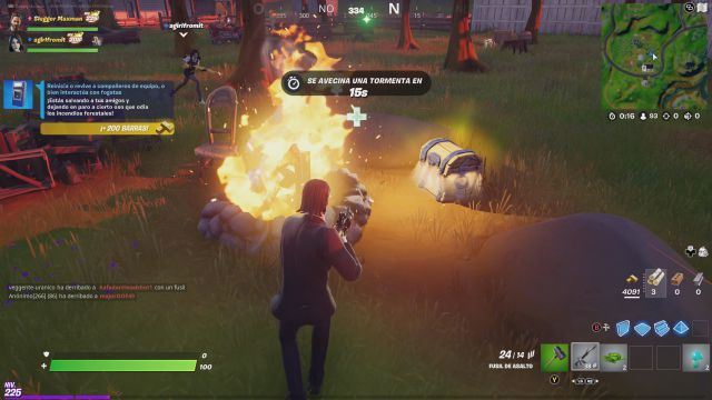 fornite chapter 2 season 7 free guy ryan reynolds collaboration challenges missions challenge mission reboot or revive teammates or interact with campfires
