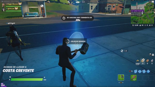 fornite chapter 2 season 7 free guy ryan reynolds collaboration challenges missions challenge mission place coins on the map