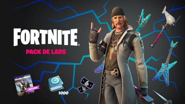 fortnite chapter 2 season 7 pack skin lars save the world how to get it