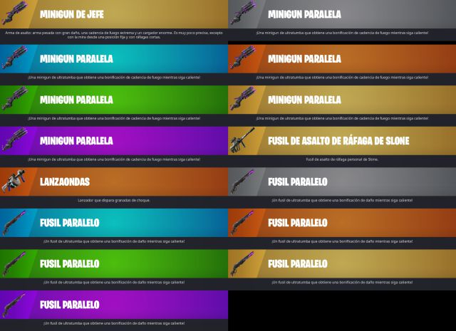 Fortnite Temporada 8 nuevas armas battle royale PS5 PC Xbox Series X PS4 Nintendo Switch