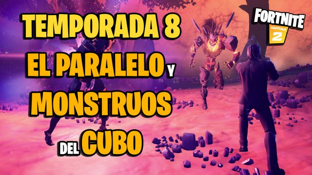 fortnite chapter 2 season 8 the parallel how to enter cube monsters