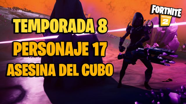 fortnite chapter 2 season 8 character 17 cube killer location how to kill her