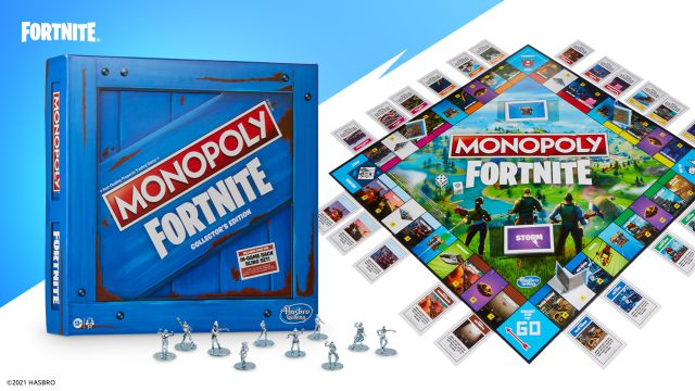 fortnite chapter 2 season 8 monopoly event collaboration objects