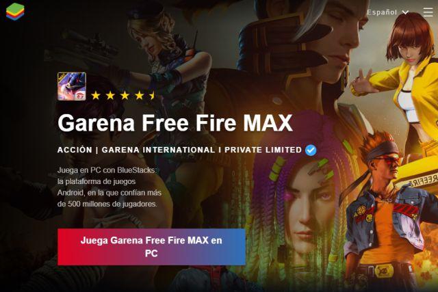 Free Fire Max: cómo descargar y jugar gratis en PC (Windows) y Mac