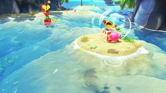 Camino a La Tierra Olvidada: el salto definitivo de Kirby a los mundos 3D