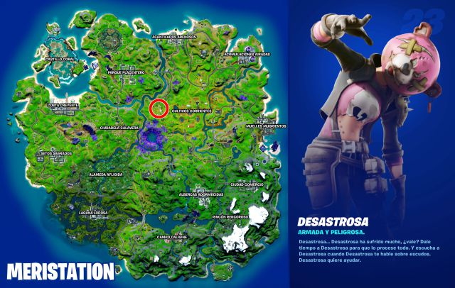 fortnite episode 2 season 8 missions disastrous punch card