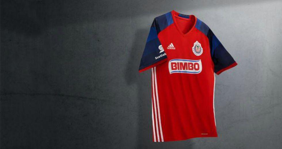 48d20f20e4ec7 Liga MX  Chivas presenta su uniforme de gala para el Clausura 2016 ...