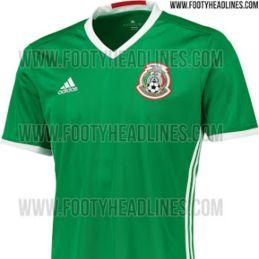 18c0d532ad8b3 Se hizo la presentación oficial del jersey que usará la selección mexicana  en la Copa América Centenario Toronto - América  semifinales Concachampions  2018