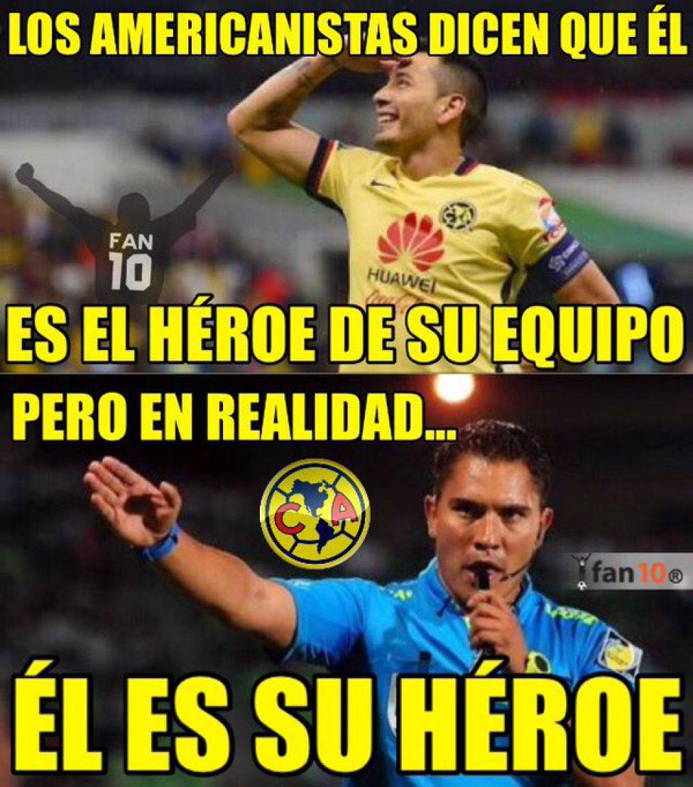 Liga Mx América Venció A Monterrey Y Los Memes No Podían Faltar