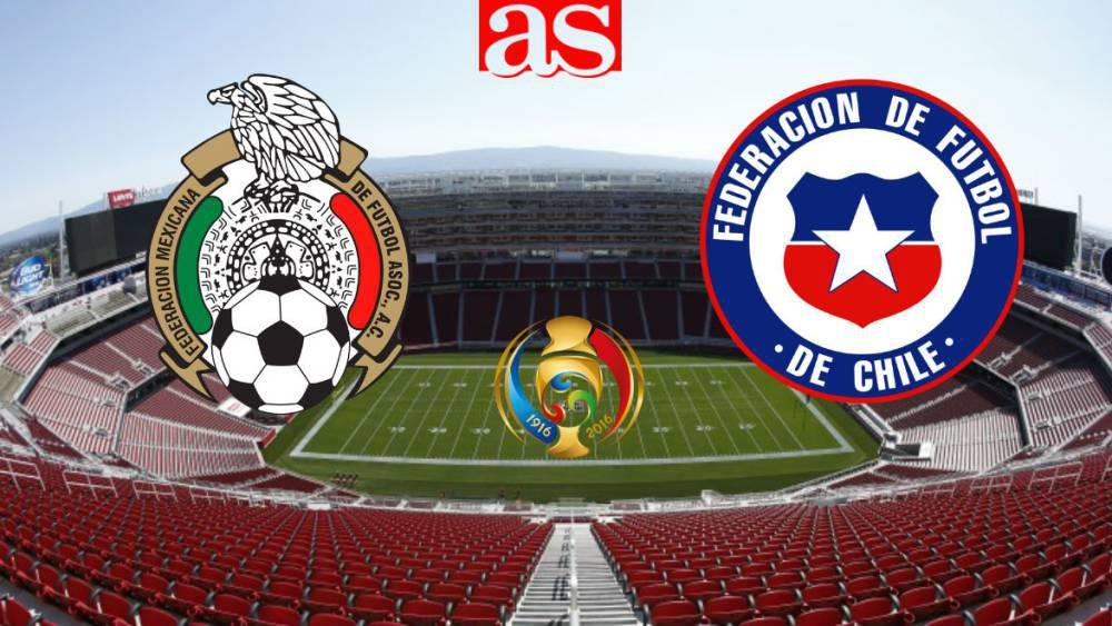 e9fe2c43b02a3 México vs Chile en vivo online  Copa América 2016