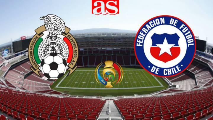 Mexico Vs Chile 0 7 Resumen Del Partido Resultado Y Goles As Mexico