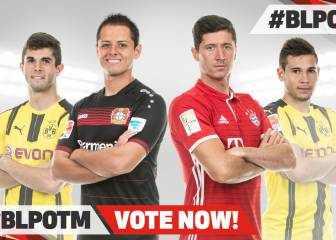 Chicharito nominated for Bundesliga player of the month