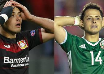 1264 and counting - Chicharito ends 2016 in scoring drought
