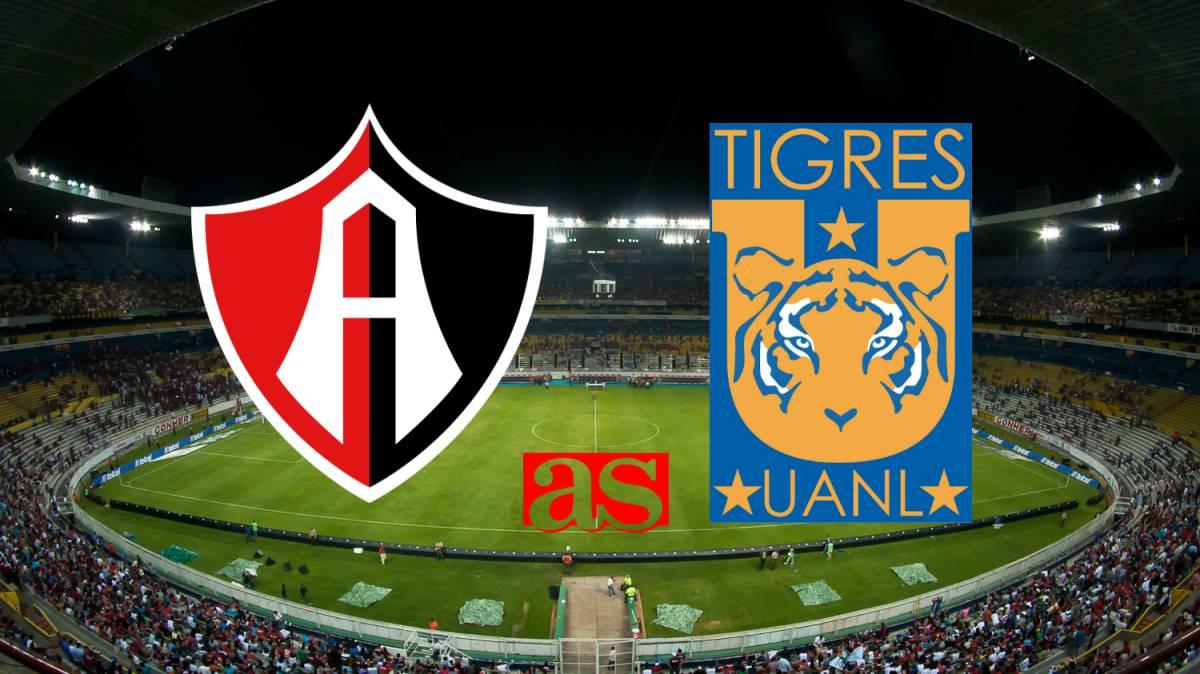 Atlas vs Tigres (2-0)  Resumen del partido goles - AS México 65e2a78cc1944