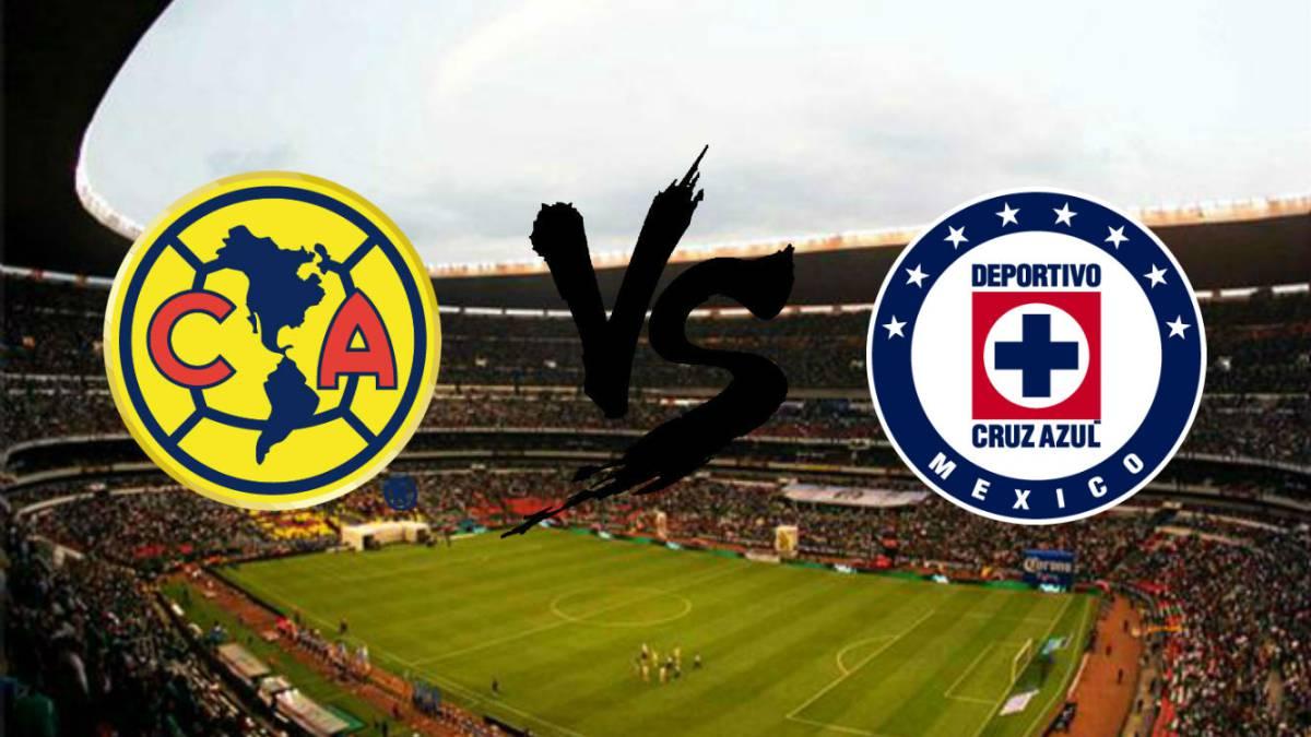 Cruz Azul Vs America 2018 >> América-Cruz Azul: goles, resultado y resumen - Liga MX - AS México