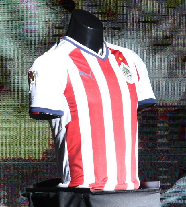 Chivas presenta su piel de campeón - AS México 615fed10110e2