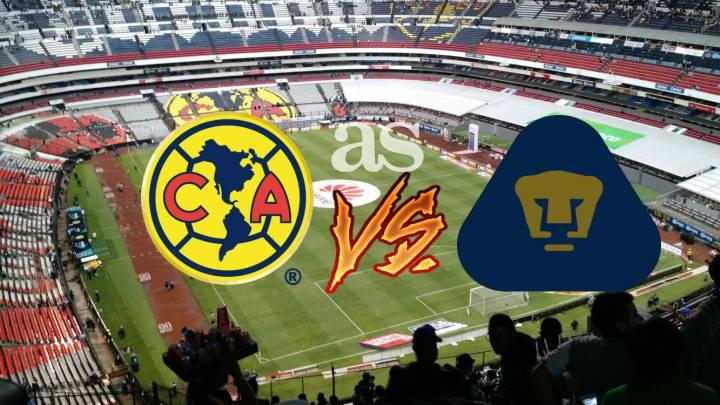 Específicamente estudiante universitario El hotel  América vs Pumas (2-1): Resumen del partido y goles - AS México