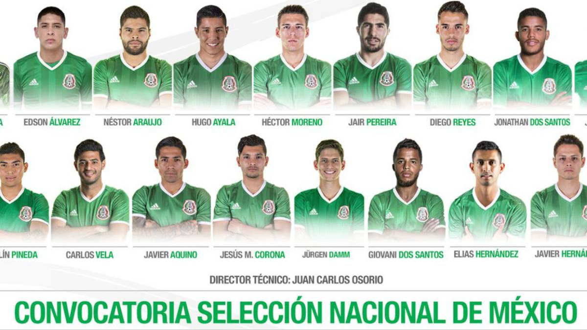 10  europeos  encabezan la lista de México para eliminatoria de Concacaf. Convocatoria  Seleccion Mexicana 2ce5dfb048a67
