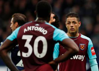 Chicharito no anota y el West Ham sigue en el fondo de la Premier