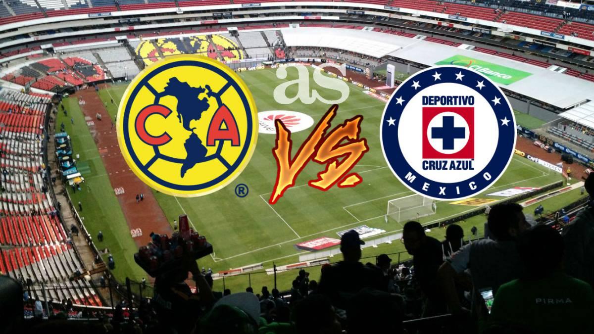 Video De America Vs Cruz Azul 2017 >> América vs. Cruz Azul Copa MX, Octavos de final (Reprogramado) - AS México