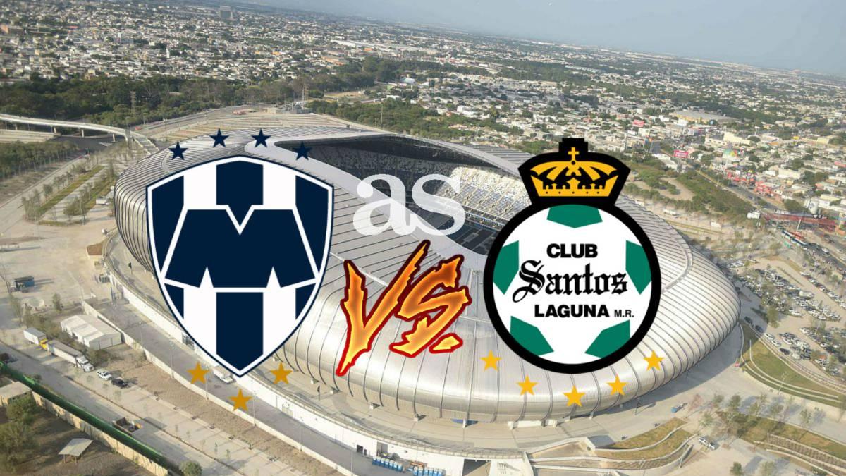 Rayados de Monterrey vs Santos en vivo online  Liga MX 52385d82644cf