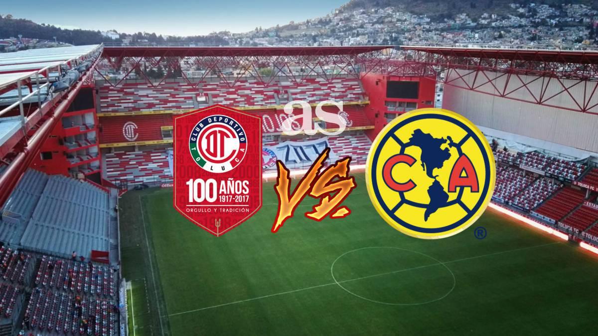 c62fad38e No te pierdas el Toluca vs América de la jornada 12 del Apertura 2017 a las