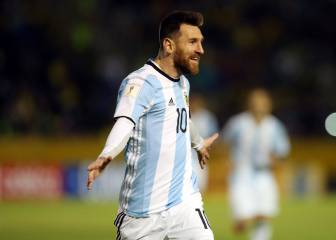 Los 'hat-tricks' de Messi con Argentina
