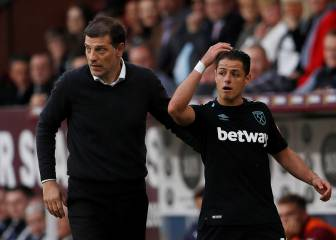 West Ham y Chicharito dejan escapar triunfo ante Burnley