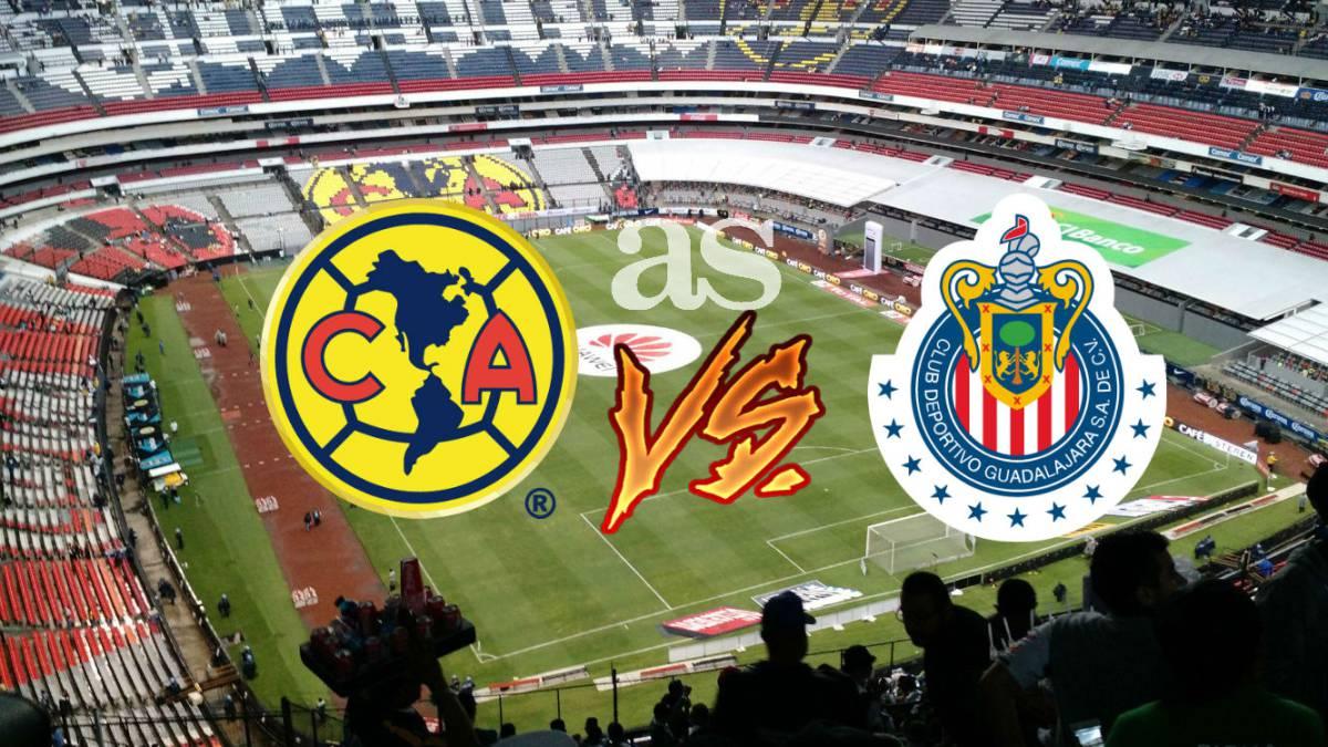 d43c6468a7ee5 América vs Chivas (2-1)  Resumen del partido y goles - AS México