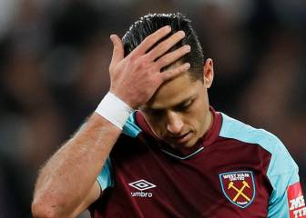 'Chicharito' y West Ham se acercan al fondo de la tabla