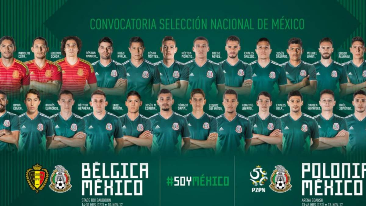 Convocatoria Seleccion Mexicana