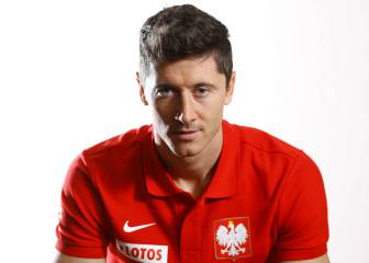 Robert Lewandowski, descartado ante México