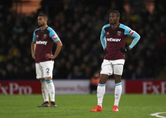 Sin Chicharito, West Ham cae ante Watford