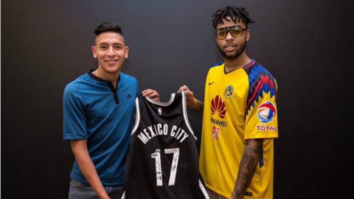 9c992b999 Edson Álvarez revela el posible nuevo jersey del América - AS México