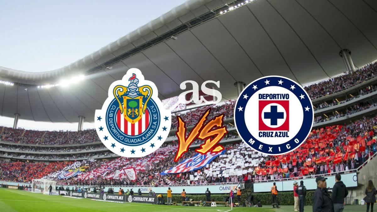 f48bbe8f5 Chivas vs Cruz Azul en vivo online  Liga MX