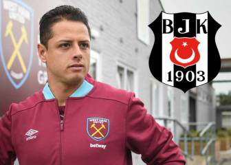 Besiktas negociaría con West Ham el préstamo del Chicharito