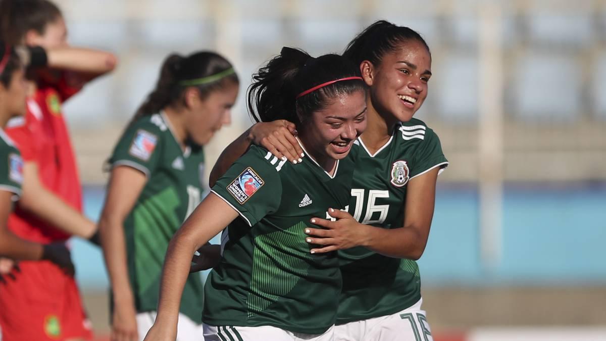 México triunfó en su debut del premundial femenil sub-20 c7456b9574b69