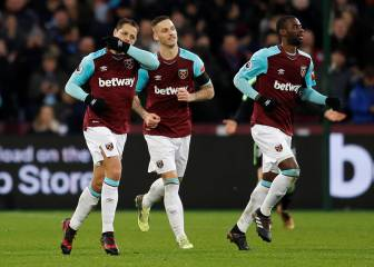 Chicharito le da el empate al West Ham