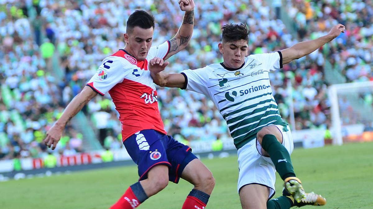 Santos vs Veracruz horario