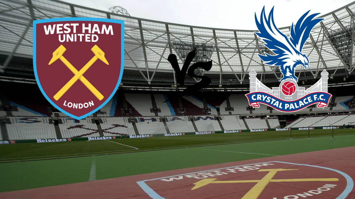 West Ham-Crystal Palace en vivo online: Premier League, jornada 25