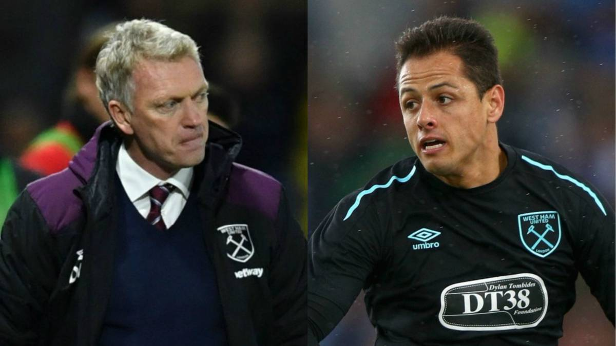 Javier Chicharito Hernandez, David Moyes, West Ham