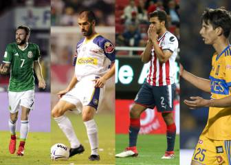 Los 20 'cracks' que descendieron en la Liga MX