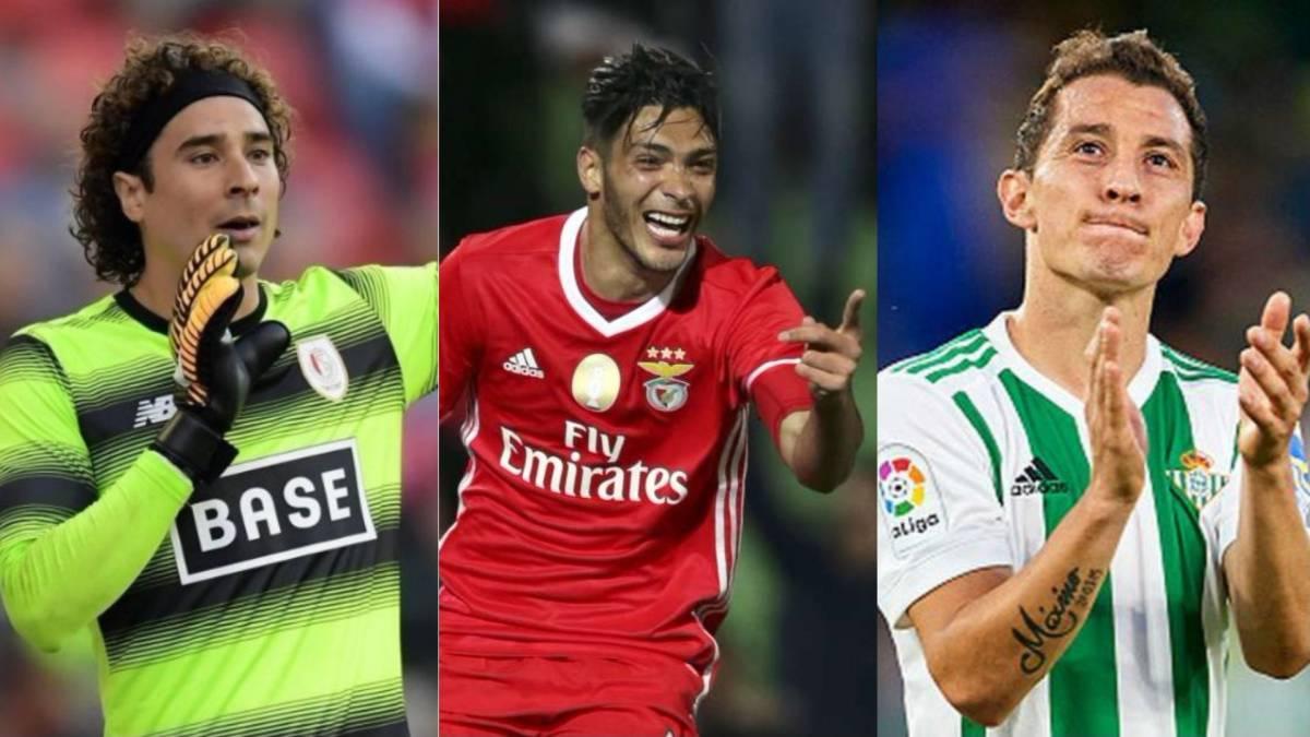 Resultado de imagen para mexicanos en europa futbol