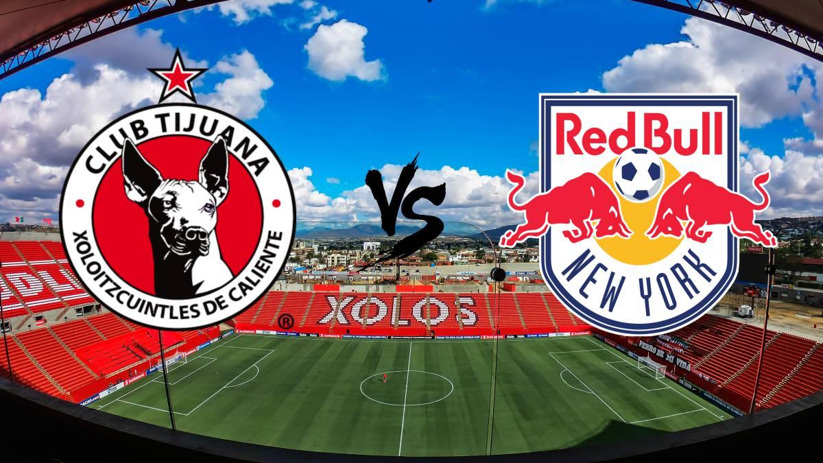 Tijuana vs New York RB en vivo online: Concacaf, Cuartos de Final
