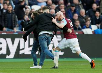 Aficionados intentan agredir a jugadores del West Ham