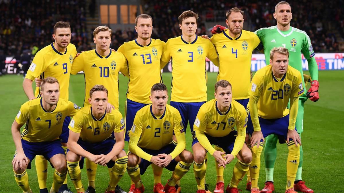 Resultado de imagen para equipo Suecia Fútbol Copa Mundial 2018