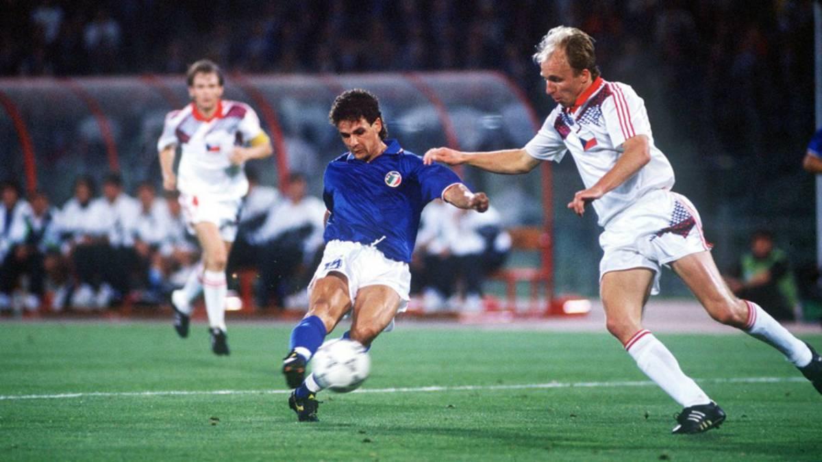 Roberto Baggio y un gol para la historia en Italia 90 - AS México